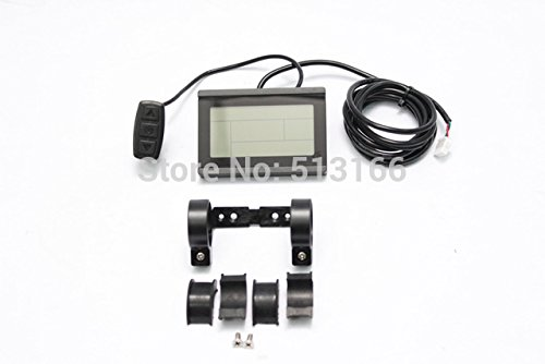 24V 36V 48V ebike intelligent LCD Control Panel LCD Display for our 24V 36V 48V Controller