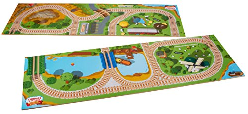 Playboard Train Table - Fisher-Price Thomas & Friends Wooden 2-in-1 Playboard