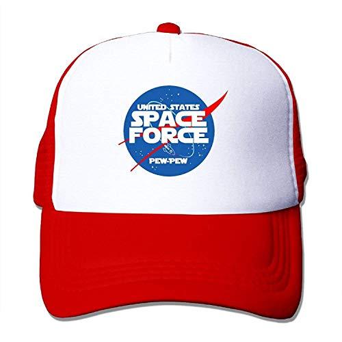 Space Force PEW PEW- Classic Trucker Hat Baseball Cap Adjustable Sun Hat -