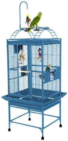 Medium Play Top Bird Cage Color Black