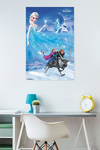 "Trends International Frozen One Sheet 22.375"" x 34"" Wall Pos"