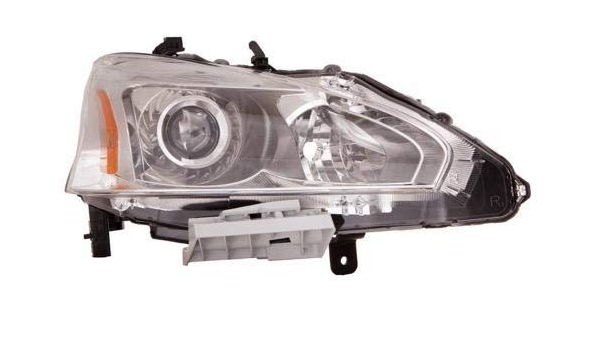 Only 4-Door Sedan Models Not Including Bulbs //13 14 15 Nissan Altima DWVO Headlight Assembly Compatible with Nissan Altima 2013 2014 2015