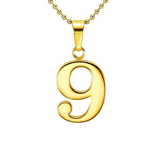 number 9 pendant - 3