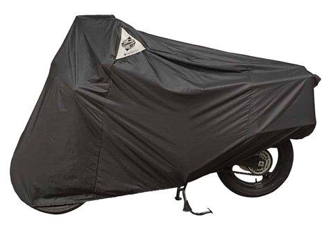 DOWCO Guardian WeatherAll Plus Motorcycle Cover (Medium) (Black)