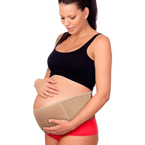 Maternity Belt, Pregnancy Support Belt, Breathable Belly Band - Back Hip & Pelvic Support Lumbar Relief Prenatal & Postpartum Tummy Wrap Abdominal Sling Prenatal Cradle - Universal Size