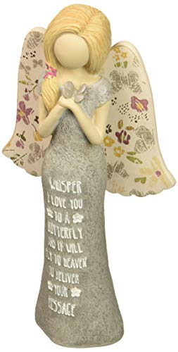 Pavilion Gift Company Whisper I Love You to A Butterfly and It Will Fly to Heaven to Deliver Your Message Adult Angel Figurine -