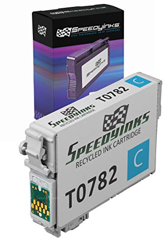 Speedy Inks - Remanufactured Cyan Ink for Epson 78 T078220 for use in Epson Stylus Photo RX580, Epson Stylus Photo R260, Epson Stylus Photo R380, Epson Stylus Photo R280, Epson Stylus Photo RX595