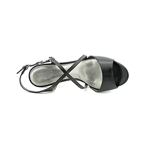 Womens Sandals Shoes Black Size Des Dress Coach 9 Semi Leather S8FEaqw