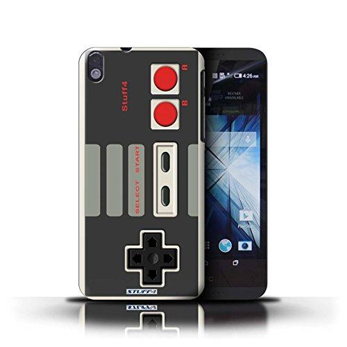 Kobalt® Imprimé Etui / Coque pour HTC Desire 816 / Nintendo conception / Série Console (jeux vidéo)