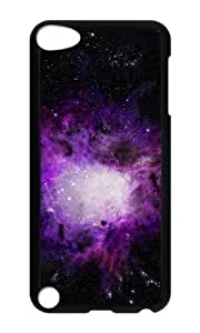 Ipod 5 Case,MOKSHOP Cool purple orion nebula Hard Case Protective Shell Cell Phone Cover For Ipod 5 - PC Black by lolosakes by lolosakes