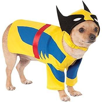 Rubieu0027s Marvel Universe Wolverine Pet Costume Small  sc 1 st  Amazon.com & Amazon.com : Rubieu0027s Marvel Universe Wolverine Pet Costume Small ...