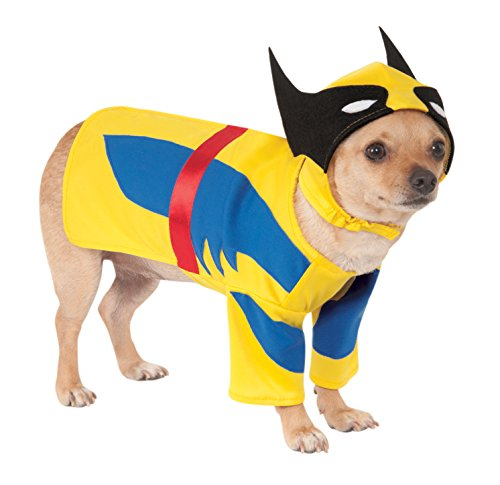 Rubies Costume Company Marvel Classic/Marvel Universe Wolverine Pet Costume, Small ()