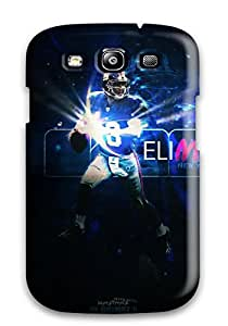 Ultra Slim Fit Hard ZippyDoritEduard Case Cover Specially Made For Galaxy S3- Eli Manning