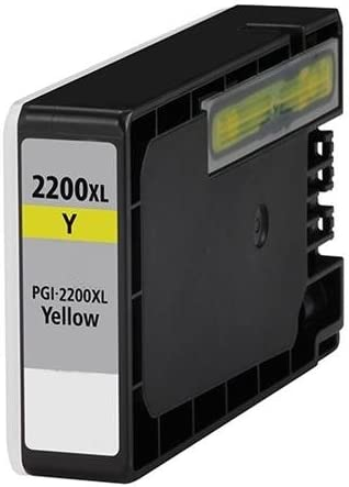 MG Compatible Inkjet Cartridges iB4020; Yellow Ink: CPGI2200XLY MB5020 9270B001; Models: MAXIFY MB5320 Replacement for Canon PGI-2200XL Y