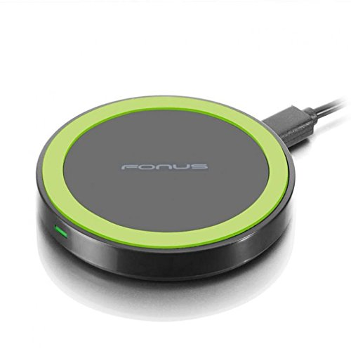 10W Fast Charge Wireless Charger Compact Charging Pad [Compact] Non-Slip Design for Straight Talk Samsung Galaxy S6 (S906C) - Straight Talk Samsung Galaxy S7 (SM-G930A) - T-Mobile iPhone 8