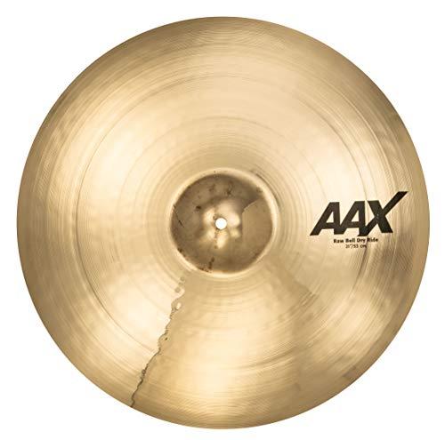 Sabian 21 Inch AAX Raw Bell Dry Ride Cymbal Brilliant Finish