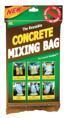 The Cement Solution Concrete Mixing Bag by Conservco