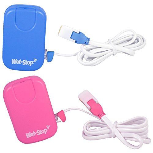 Wet Stop 3 Blue Bedwetting Enuresis Alarm with Loud Sound and Strong Vibration for Boys or Girls, Proven Solutions for Bedwetters