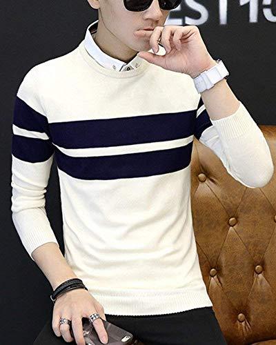 Cotton Betrothales Hommes Avec Pulls Le Beige Sweatshirt Man Pull De 0aUxwqSwF