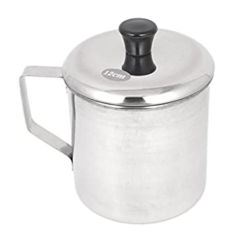 Amazon.com: Utensilios de cocina de Plata del tono del Acero ...