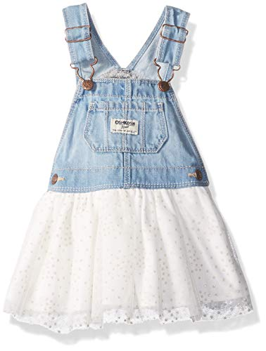 OshKosh B'Gosh Baby Girls' World's Best Overalls, Darla wash, 18-24 Months