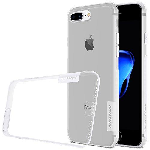 nillkin case for apple iphone 7 plus nature series back soft flexible tpu white   White