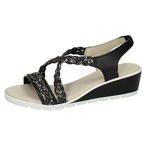 MADE IN SPAIN ,  Damen Sandalen Schwarz