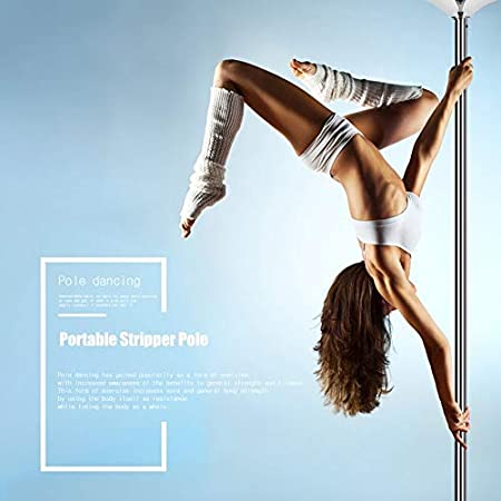 1 Unidades Portable Stripper Pole Fitness Ejercicio Spinning ...