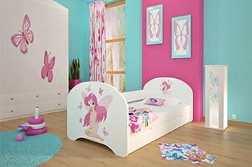 Kinderbett Fur Madchen ~ Neu kinderbett mit liegeflächen und matratzen für mädchen