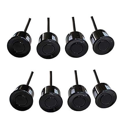 Amazon.com: Black, China : Car Parking Sensor 8 sensors+ Buzzer Backup Radar Detector System Reverse Sound Alert 4 Colors to Choose UAP08: Home & Kitchen