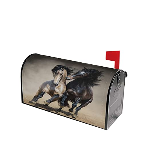 Running Horse Mailbox Covers, Magnetic Post Box