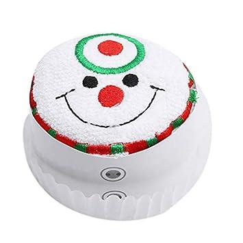 Winbang Decorativo Navidad Toalla de baño Regalo manopla de baño bayeta Toalla Mignonne Presente para Regalo Boda Festivals Fiestas Bars Fecha de Compromiso ...