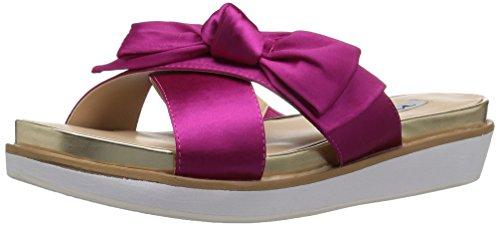 NINA Women's Garda Flip Flop, Ys-Magenta, 7.5 M US