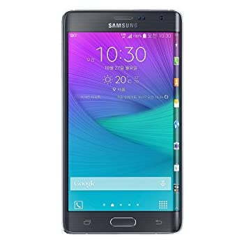Samsung Galaxy Note Edge N915G 32GB Unlocked GSM Smartphone - International Version, No Warranty (Black)