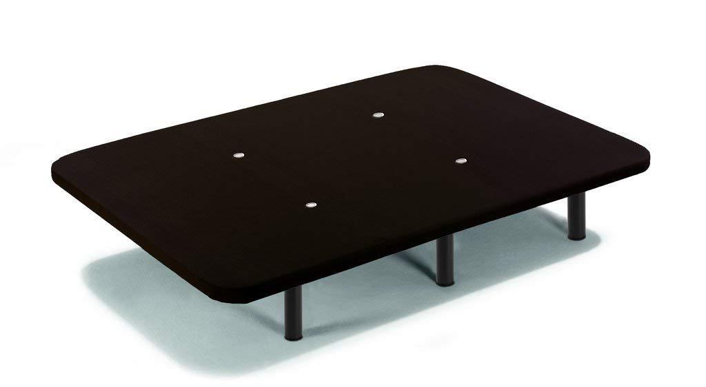 90x190cm 6 Patas De Metal Roscadas De 26cm HOGAR 24 Base Tapizada con Tejido 3D Negro y V/álvulas De Transpiraci/ón