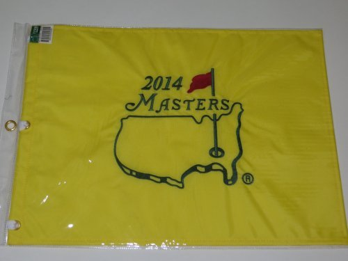 2014 Masters Flag augusta national golf bubba watson wins pga new