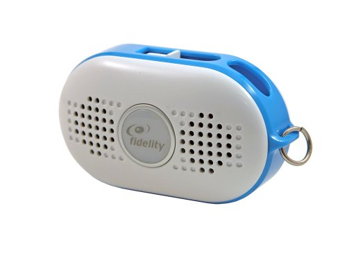 Fidelity Mist Plus Portable Speaker for all MP3 players (Blue)