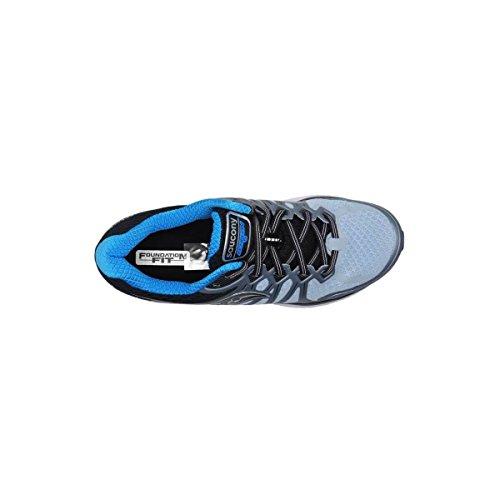 Saucony Blk Fog 6 Blu Gris Chaussures 4 Fitness Homme de Echelon rTqWCr