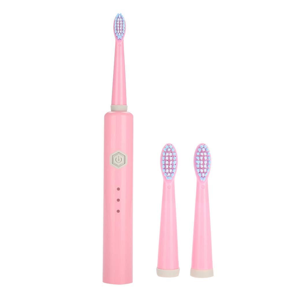 Cepillo de dientes recargable USB, herramienta de limpieza de dientes a prueba de agua eléctrica 6 modos de cepillado Limpieza profunda Herramienta de ...