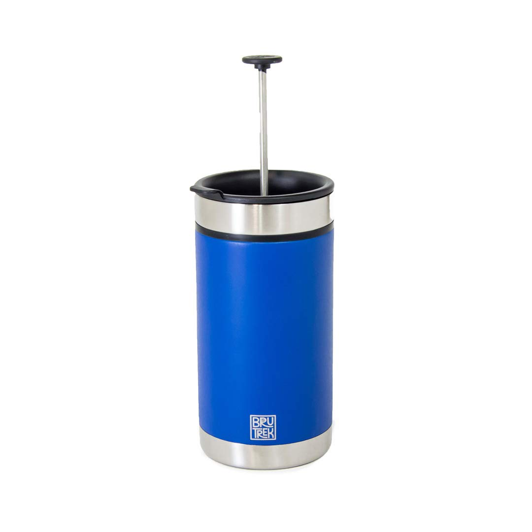 BruTrek Steel Toe French Press Coffee Travel Mug