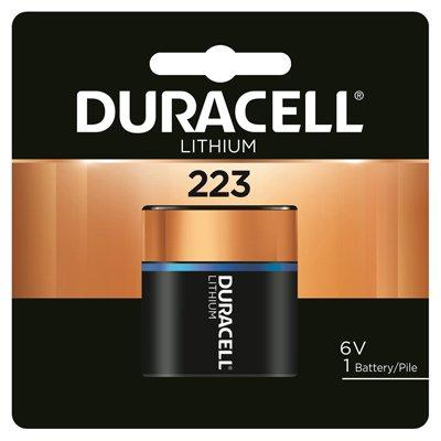 Duracell Distributing Nc 12210 Lithium Photo Battery, 223, 6-Volt - Quantity 6