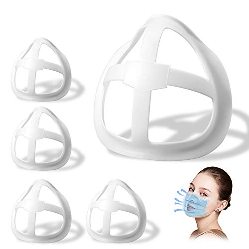 3D Face Inner Bracket for Comfortable Breathing,Face Internal Support Frame|Breathe Cup Lipstick Protector Keep Fabric…