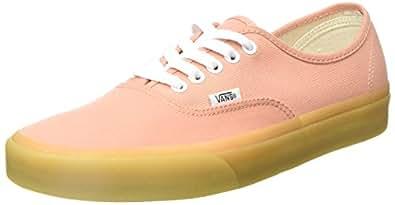 Vans Women's Authentic Trainers, Orange (Muted Clay/Gum Q9z), 4.5 UK 37 EU