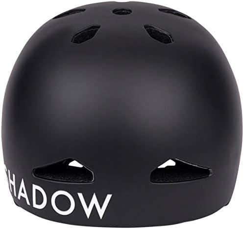 The Shadow Conspiracy Featherweight in-Mold Helmet Matt Ray Signature Matte Black Small//Medium