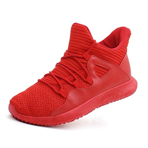 Men's Casual Walking Shoes Breathable Sneakers Red Label Size 45 - US 11.5 Women/10 Men ()