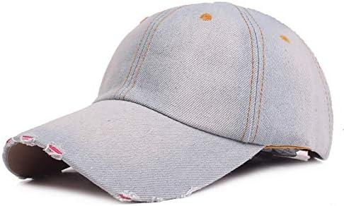 Gorra de béisbol Ajustable de algodón desgastada Unisex Fashian ...