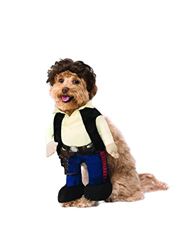Rubie's 580694LXL_XL Star Wars Classic Han Solo Pet Costume, X-Large