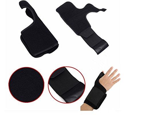 Sports Thumb Spica Splint Brace Elastic Wrist Support Stabil