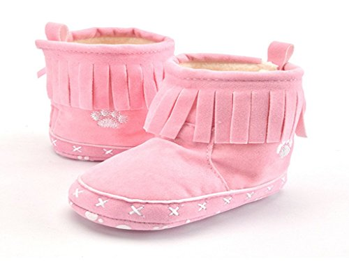 Fringed baby shoes indoor soft bottom shoes baby shoes (4.0M US Toddle, ()