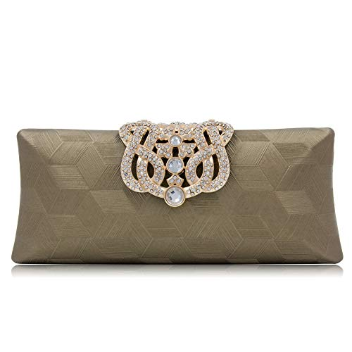 Clutch Minaudiere Crystal Bag Purse Green Lady Diamond Wedding Diamond Evening Clutch Purses Party Bridal awPBra0q